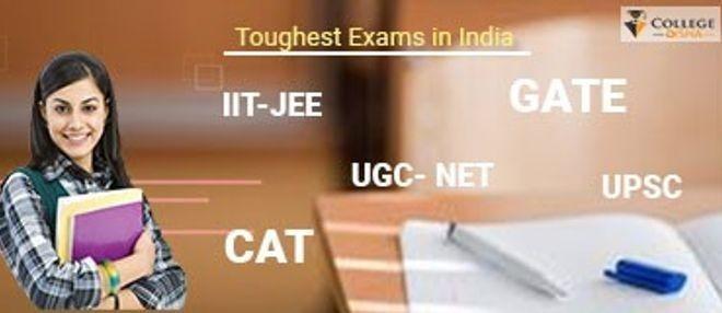 Toughest Exams in India  College Disha