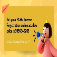Get your FSSAI license Registration online at a low price  995564226